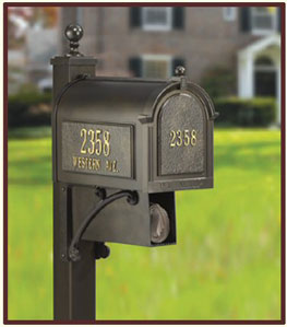 Whitehall Post Mount Mailboxes